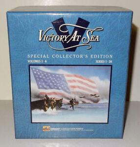 VHS – Victory at Sea - 6 tape set