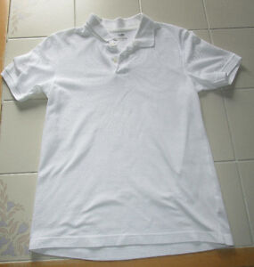 Boys white polo shirt from Old Navy in size 10/12
