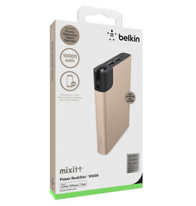 BNIB BELKIN MIXIT↑™ Power RockStar™ 10k w/Lighting Cable 4 sale!