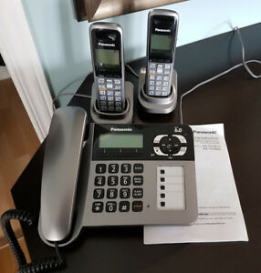 Panasonic Corded/Cordless Phone w Answering System $90 OBO