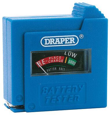 Genuine Draper Dry Cell Battery Tester 64514