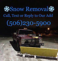 Cheap and affordable snow removal/snow plow/STARTING AT 30$