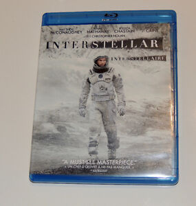 INTERSTELLAR Blu-Ray *Like New* (Watched Once)