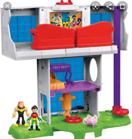 ***WANTED*** IMAGINEXT TEEN TITANS GO PLAYSET