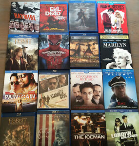 92 Blu-Ray movies must go!