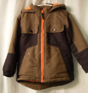 (ON HOLD)Boys Brown Fall Coat 4T @ FREEBANK 4KIDZ by Artypod