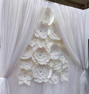 Paper Flower Backdrops (Toronto GTA)
