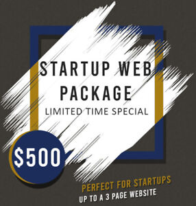 Websites For Every Budget - Starting at $500!