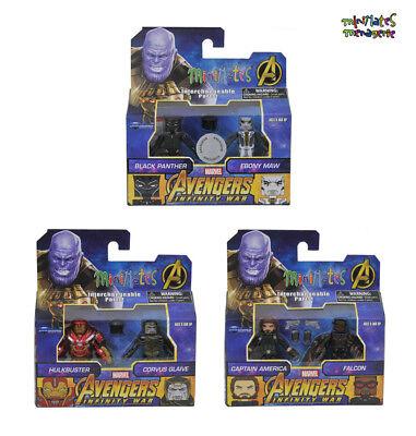 Marvel Minimates Toys R Us Avengers Infinity War Movie Wave 2 Complete Set