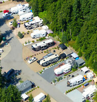 Seasonal RV Site at Club Kingfisher - Mabel Lake, BC