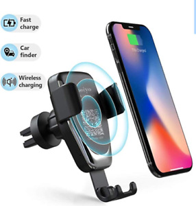 Wireless Car Charger 2 in 1 mount