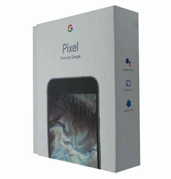 *NEW* GOOGLE PIXEL XL 128GB 4G LTE UNLOCKED ANDROID 5.5 INCH SMARTPHONE - BLACK 1