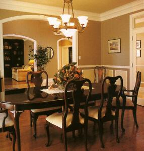 Thomasville Dinning room  set  - Cherry Collection