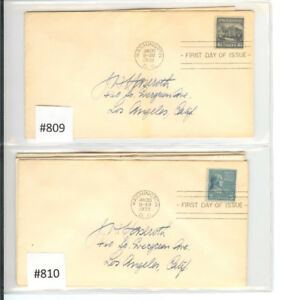 American First Day Issue Stamp Collection
