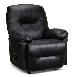 Fauteuil berçant inclinable Cuir Leather Recliner