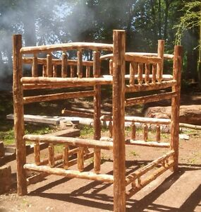 RUSTIC LOG FURNITURE - CUSTOM MADE; PINE OR CEDAR Kitchener / Waterloo Kitchener Area image 9