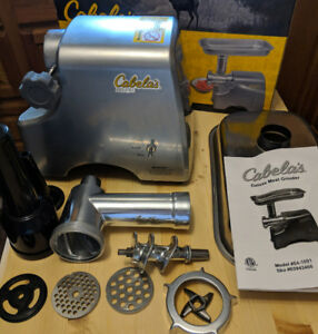Cabela's Deluxe Meat Grinder - Like New w/ Box