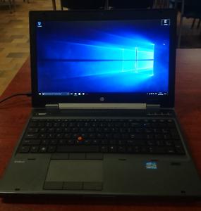 HP Elitebook 8570w Intel i7-3720QM 2.6GHz 32GB 256G SSD+500G HDD
