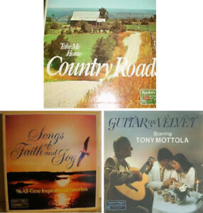 Record Albums ~ Country, Guitar, Gospel, Easy-Listening Oldies