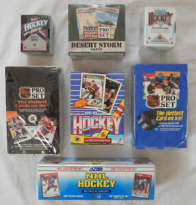 HOCKEY CARD COLLECTION 70'S 80'S 90'S WAX, SETS AND SINGLES