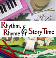 Join our Spring Session at Rhythm Rhyme & Story Time!