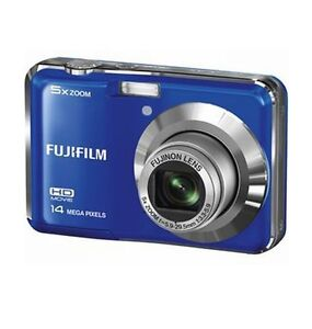 FujiFilm FinePix AX500 Digital Camera Fujivh 14MP Blue