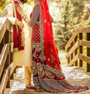 Indian Bridal Lengha and Groom's Sherwani To Rent/Buy