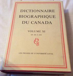 Dictionnaire biographique du Canada, vol.11