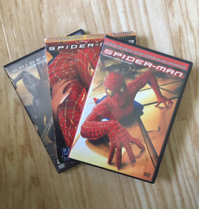 Want all Spideman? Buy 1, 2, 3, movies in one package.
