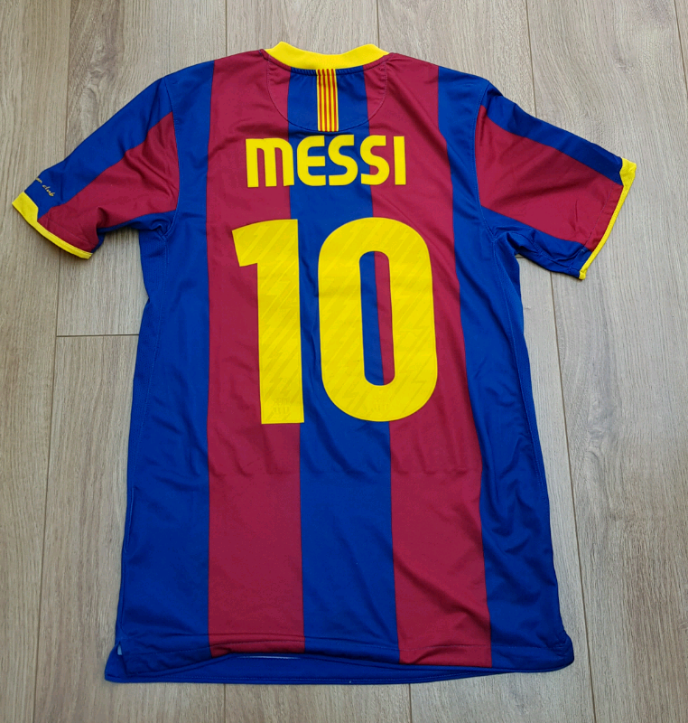 purchase cheap 377b4 1a958 Messi and Ronaldo Football Shirt Barcelona Man Utd | in Sandwell, West  Midlands | Gumtree