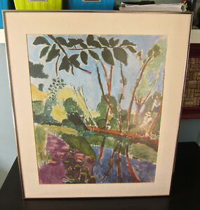 Matisse print...professionally matted and framed