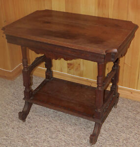Antique nook/alcove table