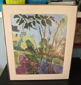 Matisse print...professionally matted / framed