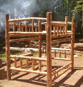 RUSTIC LOG FURNITURE - CUSTOM MADE; PINE OR CEDAR