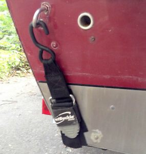 "2 x BoatBuckle Pro Series Kwik-Lok Transom Tie-Downs, 2"" x 4'"