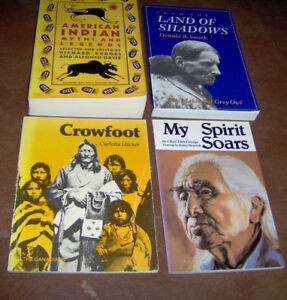 4 Native Indian topic books