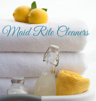 Maid Rite Cleaners, accepting new clients