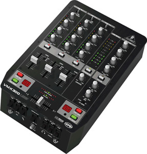 Behringer VMX300USB Professional 3-Channel DJ Mixer With USB
