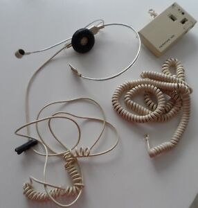 DUOFONE 129 VIINTAGE TELEPHONE HEADSET MODEL 43-172