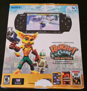 Ratchet & Clank Size Matters PSP set, mint cond with many games