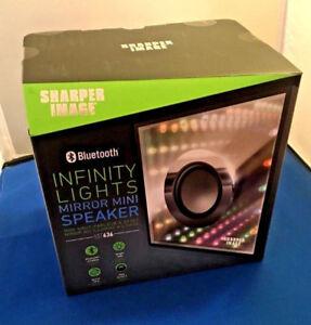 Wireless Bluetooth Speaker Infinity lights Mirror With 3d Colofu