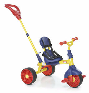 LITTLE TIKES THE LEARN 2 PEDAL 3 IN 1 TRIKE COMES WITH THE BOX