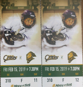 London Knights tickets for tonights game at 7:30