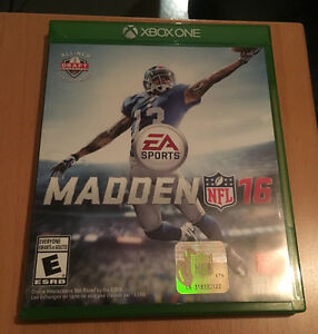 Madden 16 game
