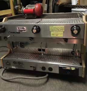 Commercial Two Group Espresso Machine