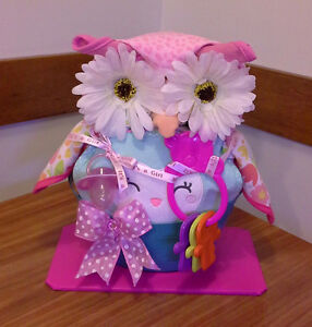 OWL BABY SHOWER GIFT - FOR BOY OR GIRL