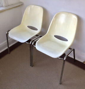 Mid Century Molded Chairs
