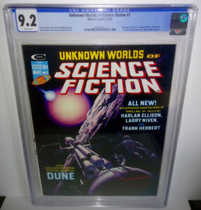 Unknown Worlds of Science Fiction #3 CGC 9.2 Marvel 1975 Harlan