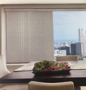 Hunter Douglas Skyline Gliding Panel Blind for Patio Dr at COST