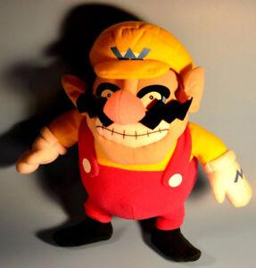 """2003 Nintendo 12"""" WARIO Kellytoy Plush Toy Figure"""